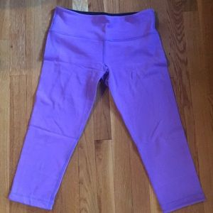 REVERSIBLE size 8 Wunder Under crop